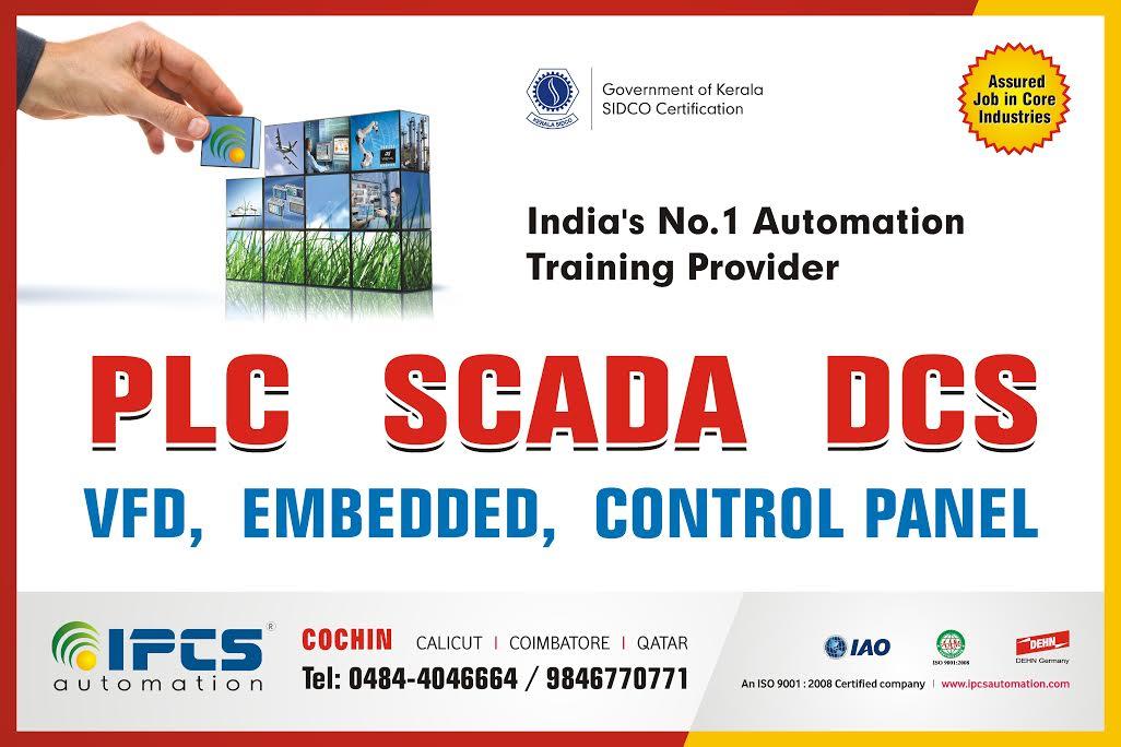 BEST PLC,SCADA, HMI, DCS, Calibration, VFD Training in IPCS Automation