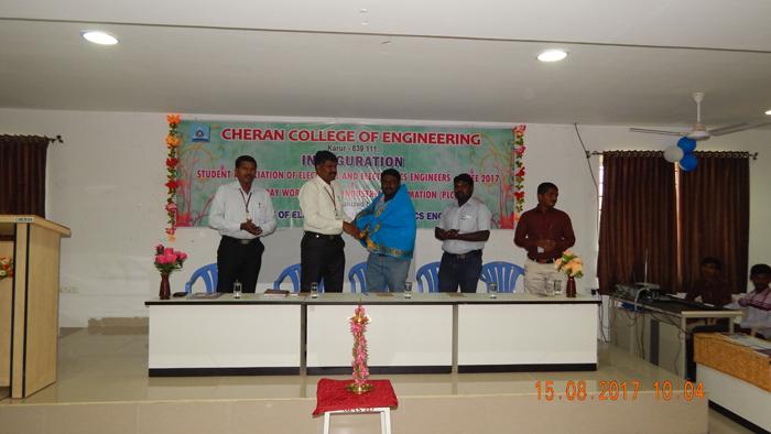 Workshop on Cheran College of Engineering Coimbatore, Tamil Nadu