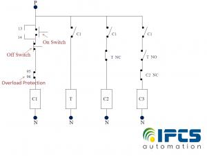 Star Delta Starter For Three Phase Motor Ipcs Automation